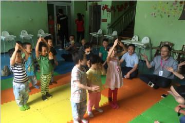 心海公益总裁鲍世超慰问残障儿童